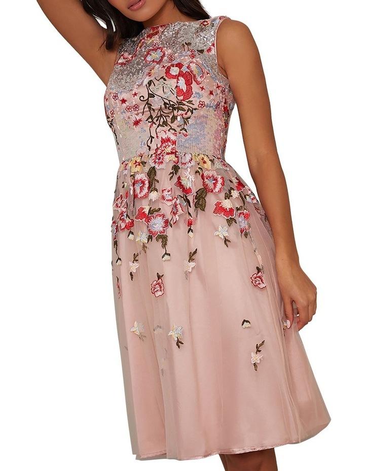 Ambar Skater Dress Pink image 2