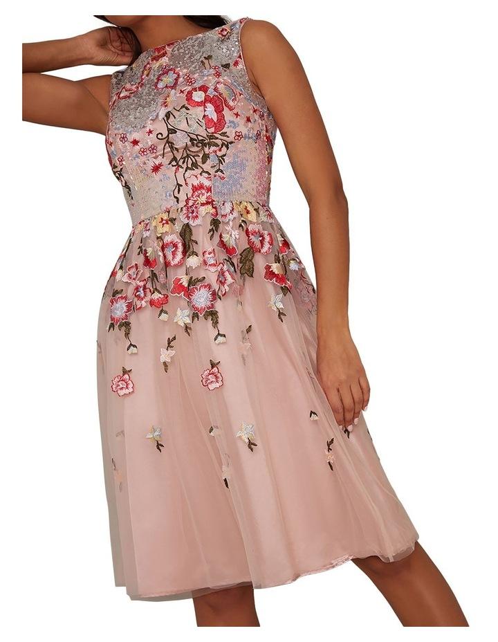 Ambar Skater Dress Pink image 3