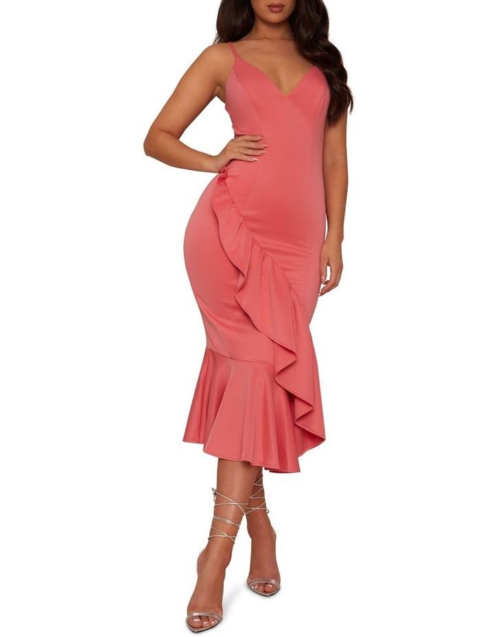 Bodycon Ruffle Dress image 1