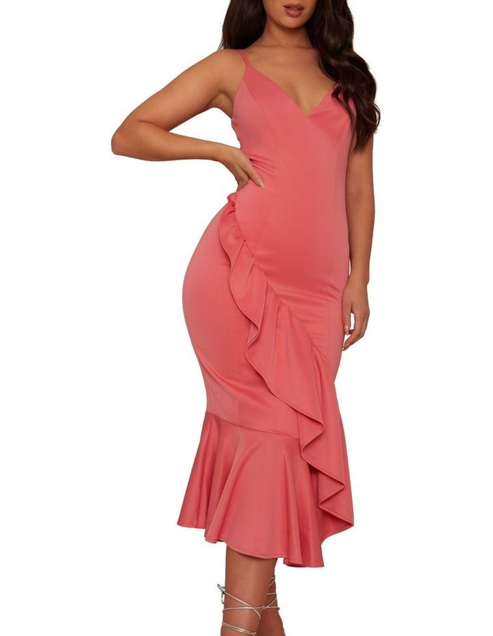 Bodycon Ruffle Dress image 4