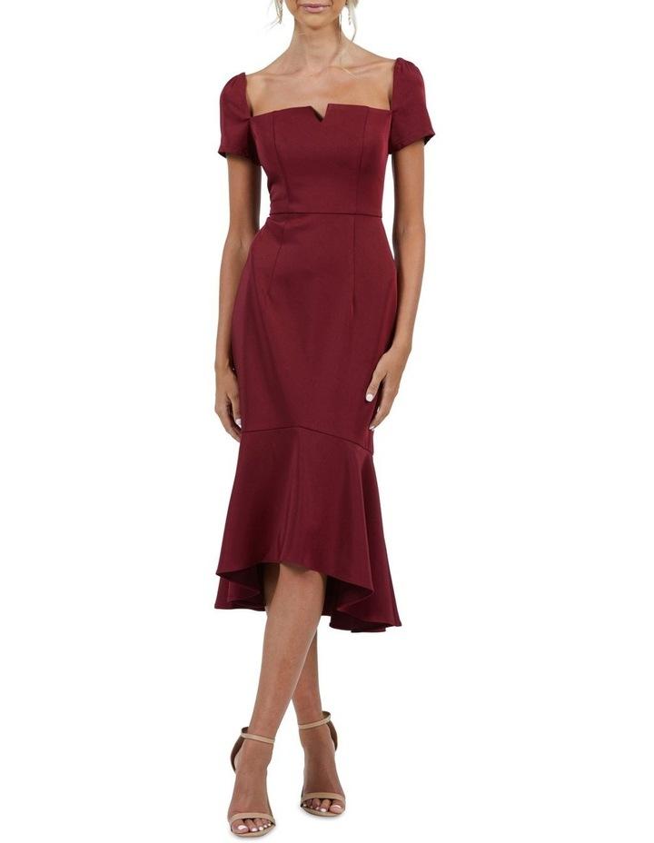 Camilla Short Sleeve Trumpet Dress image 1