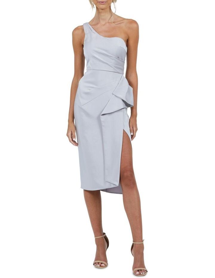 Selena One Shoulder Drape Dress image 1
