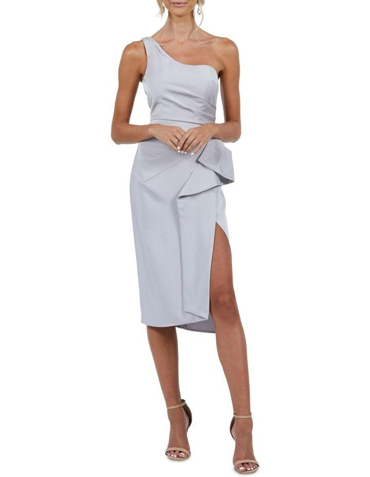 Selena One Shoulder Drape Dress image 3
