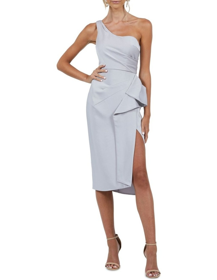 Selena One Shoulder Drape Dress image 5