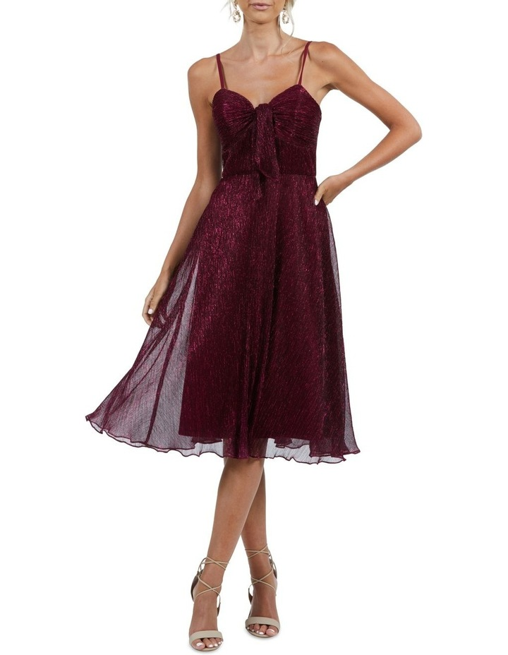 Emily Rouched Bodice A-Line Dress image 1