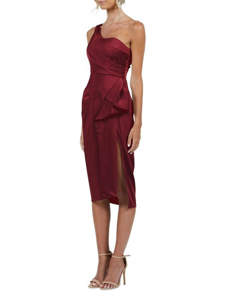 Selena One Shoulder Drape Dress image 4