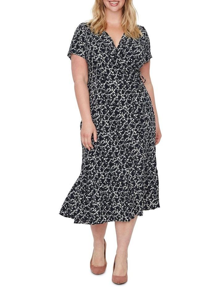 Nille Short Sleeve 7/8 Dress Wvn image 1