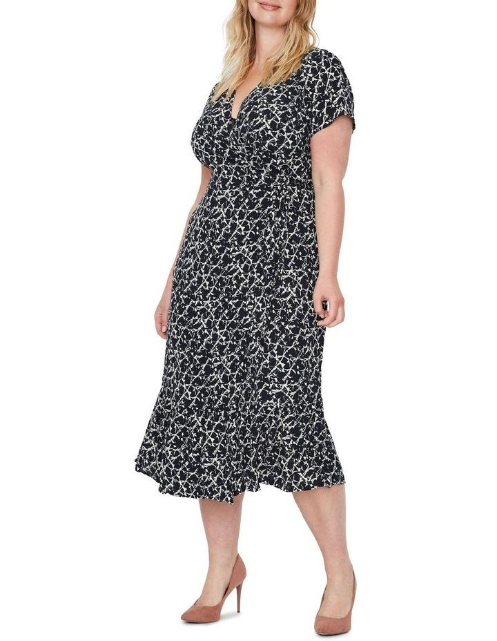 Nille Short Sleeve 7/8 Dress Wvn image 3