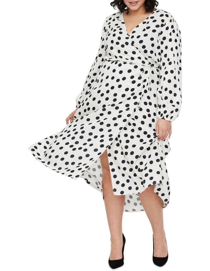 Kayla Long Sleeve 7/8 Wrap Dress image 1
