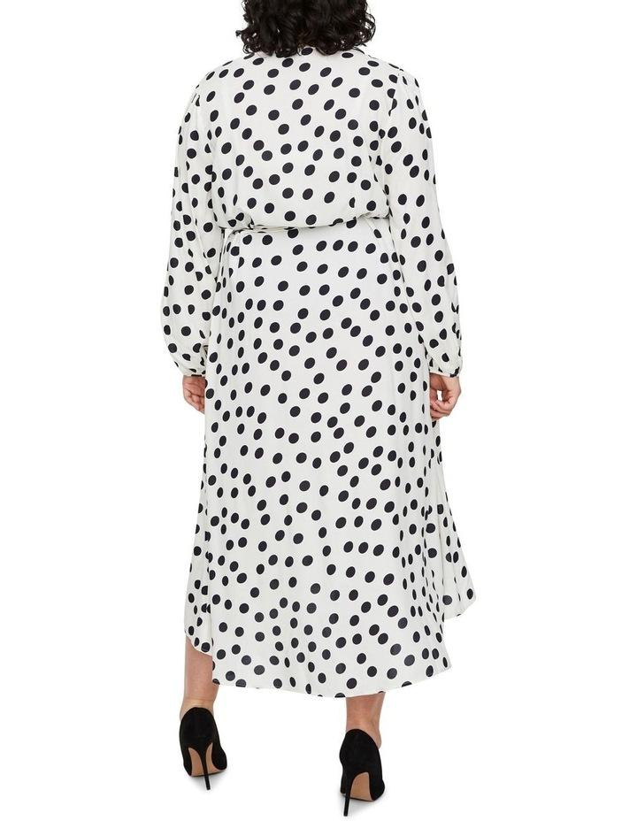 Kayla Long Sleeve 7/8 Wrap Dress image 2