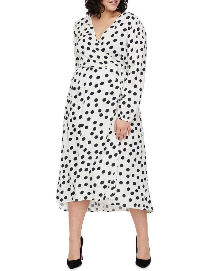Kayla Long Sleeve 7/8 Wrap Dress image 3