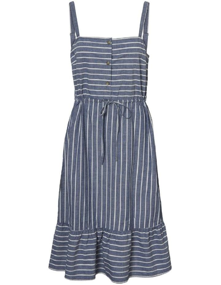 Cary Chambray Strap Dress Curve image 1