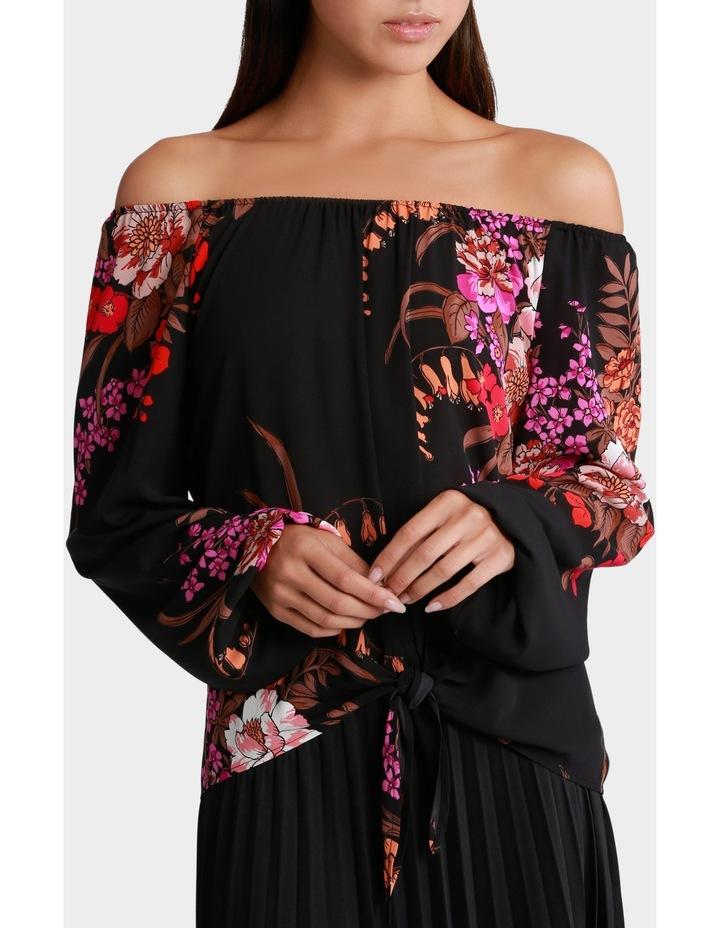 Rich Floral Blouse image 1