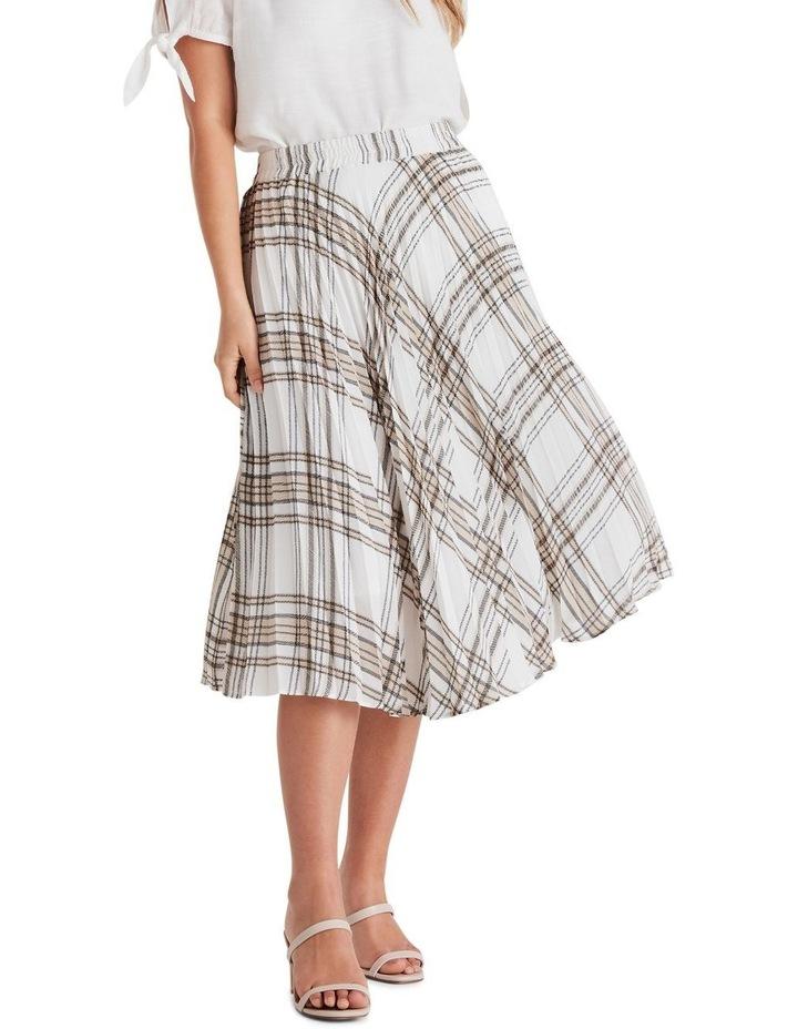 Audrey Check Skirt image 1