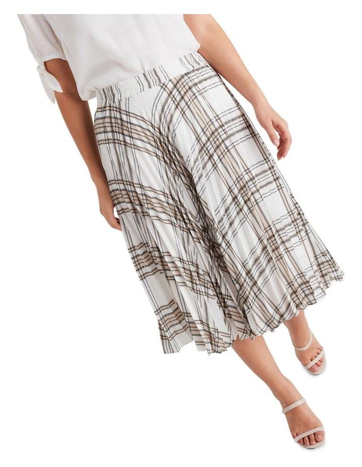 Audrey Check Skirt image 5