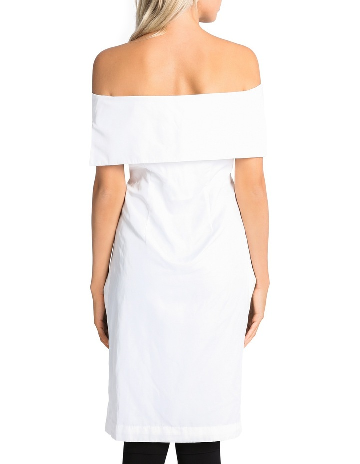 Off The Shoulder High Low Top image 3