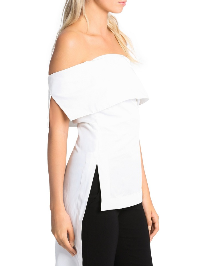 Off The Shoulder High Low Top image 4