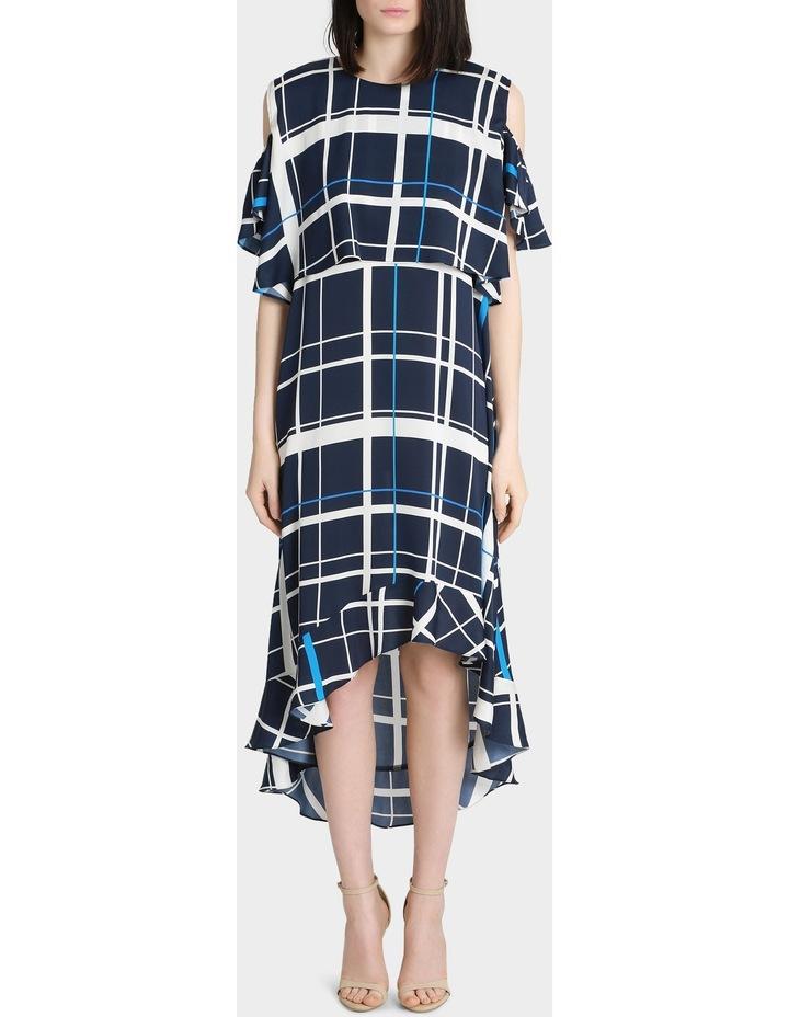 Check Print Dress image 1