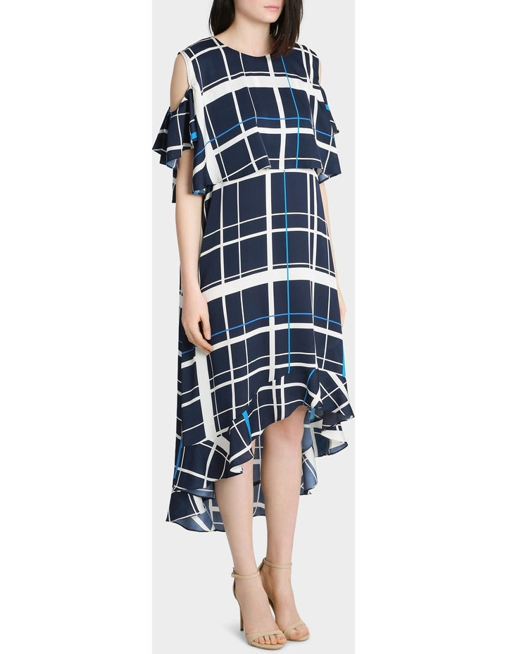 Check Print Dress image 2
