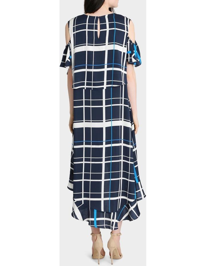 Check Print Dress image 3