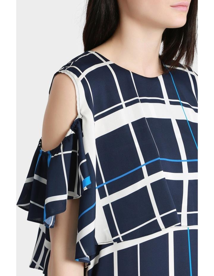 Check Print Dress image 4