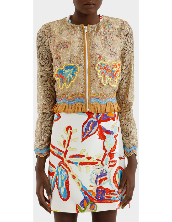 Embroidered Lace Jacket image 1