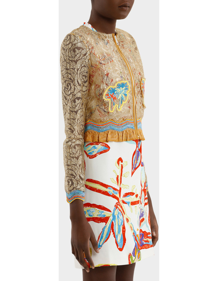 Embroidered Lace Jacket image 2