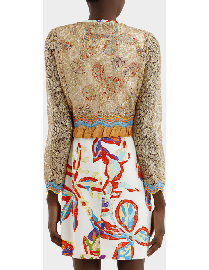 Embroidered Lace Jacket image 3