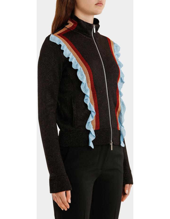Multicolor Striped Lurex Jacket image 2