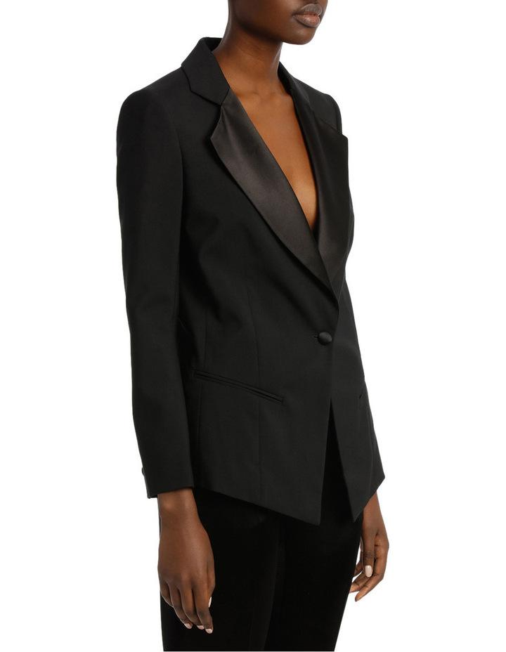 Satin Lapel Tuxedo Jacket image 2