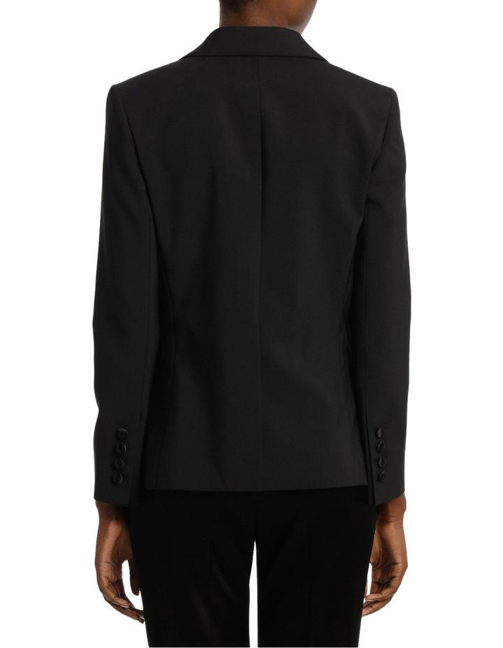 Satin Lapel Tuxedo Jacket image 3