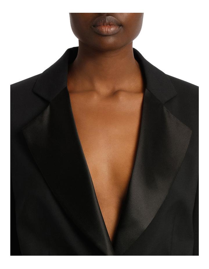Satin Lapel Tuxedo Jacket image 4