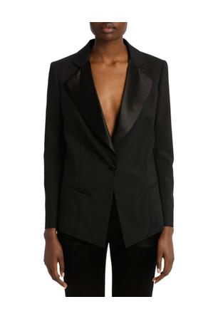Lanvin - Satin Lapel Tuxedo Jacket