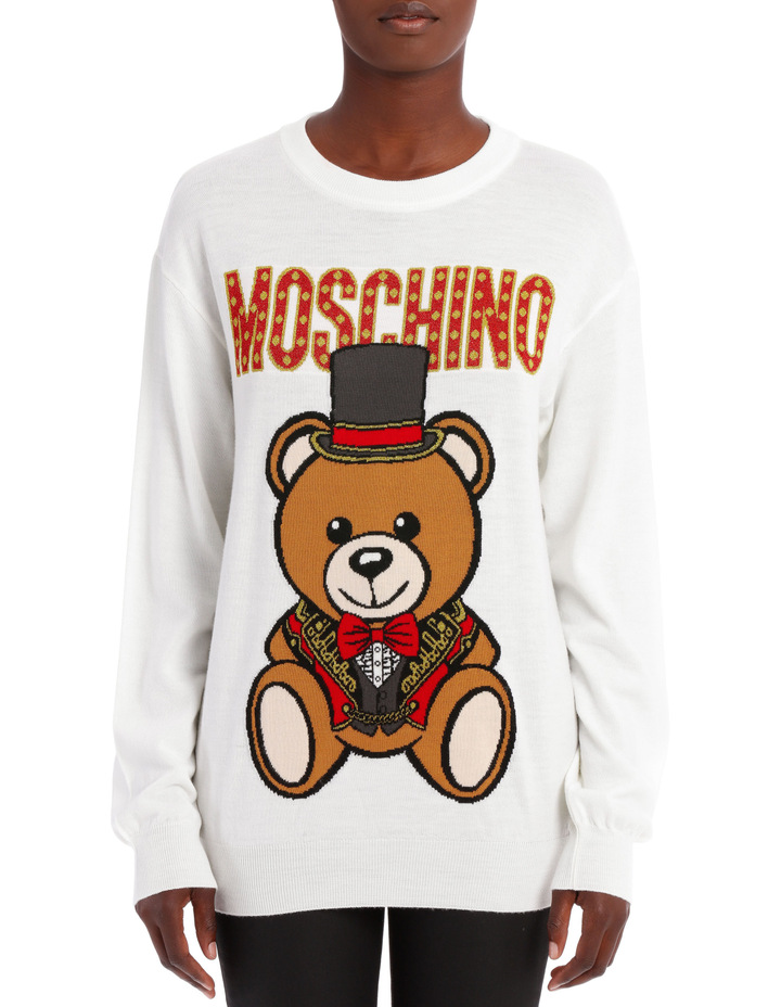 Top Hat Teddy Sweater image 1