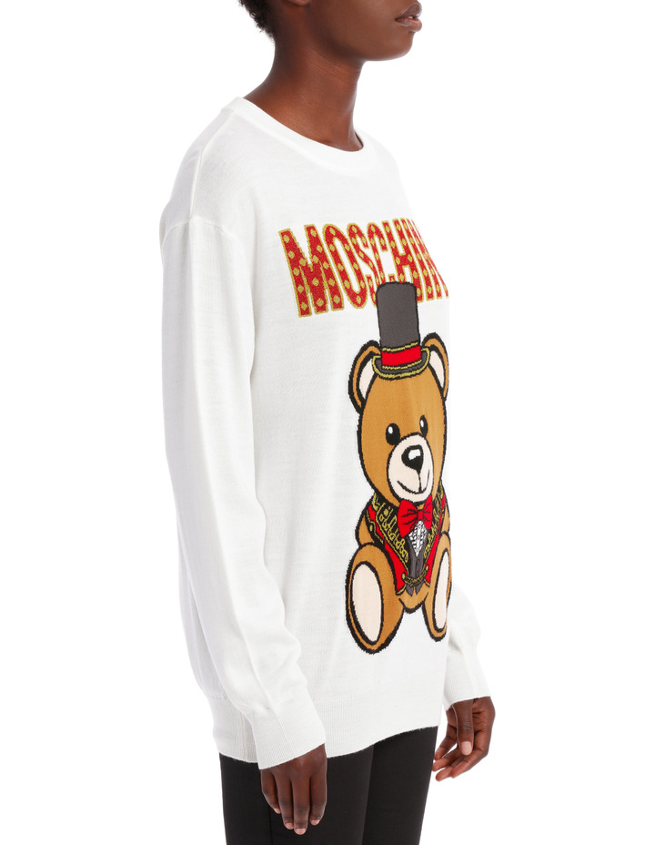 Top Hat Teddy Sweater image 2
