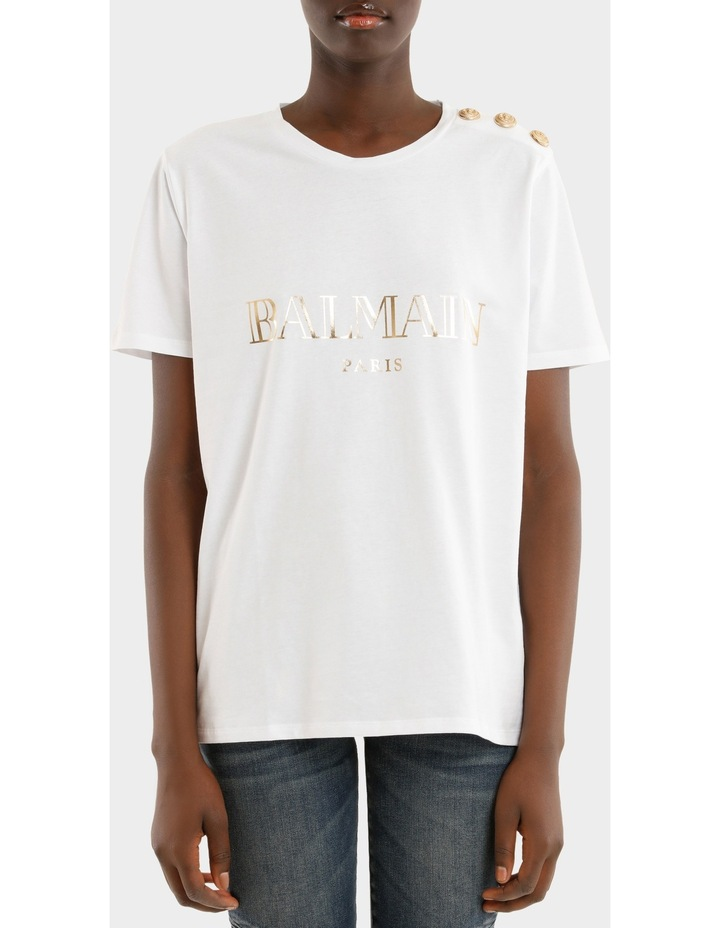 fee89224af Balmain | Logo T-Shirt | MYER