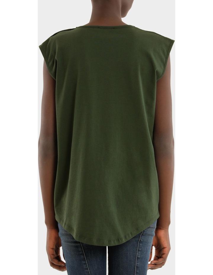 Tee-Shirt En Jersey Logo Balmain 3 Boutons image 3