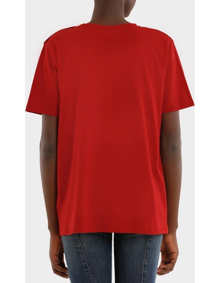 Tee-Shirt En Jersey Logo Balmain image 3