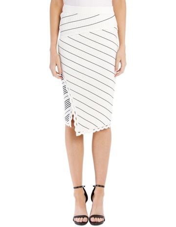 27493aafb4e Limited stock. Jonathan SimkhaiZig Zag Trim Pencil Skirt