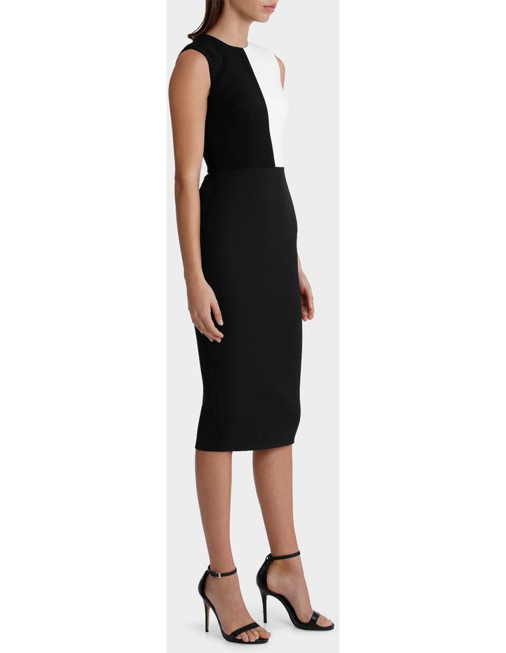 Braydn - Stretch Contrast Crew Lady Dress image 2