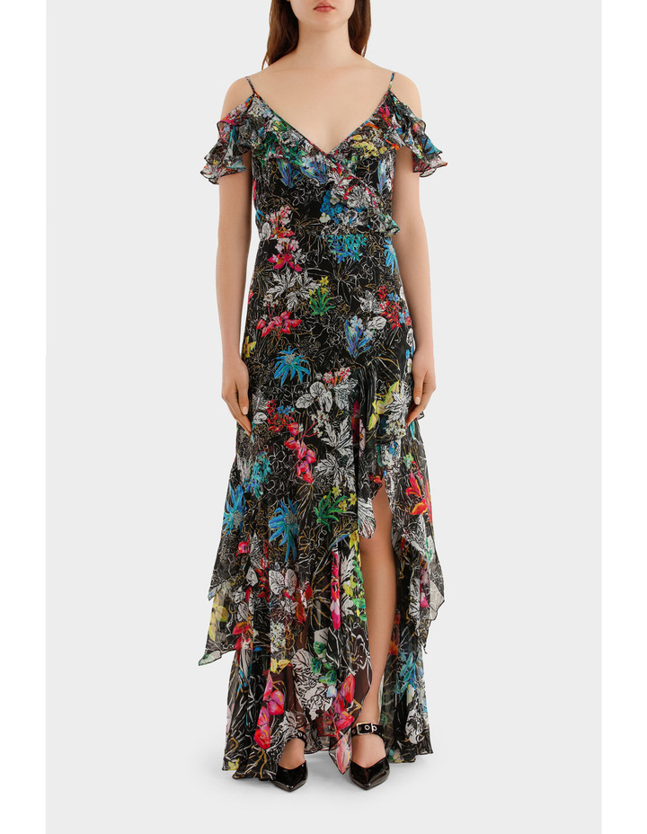 Georgette Strap Gown image 1