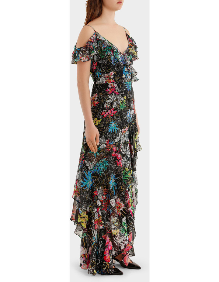 Georgette Strap Gown image 2