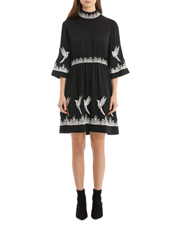Vilshenko - Satin Georgette Mini Dress