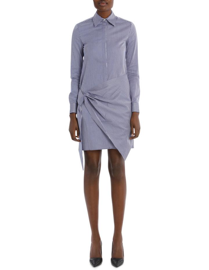 Front Wrap Shirt Dress image 1
