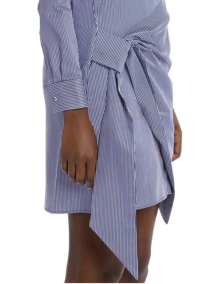 Front Wrap Shirt Dress image 4