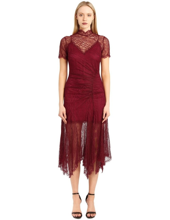 Sateen and Lingerie Lace Overdress image 1