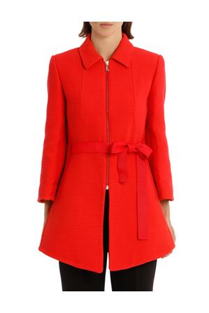 Lanvin - Neoprene Red Coat