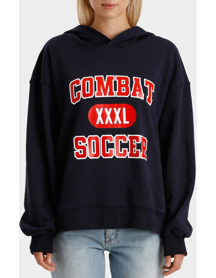 Combat Soccer Hoodie image 1