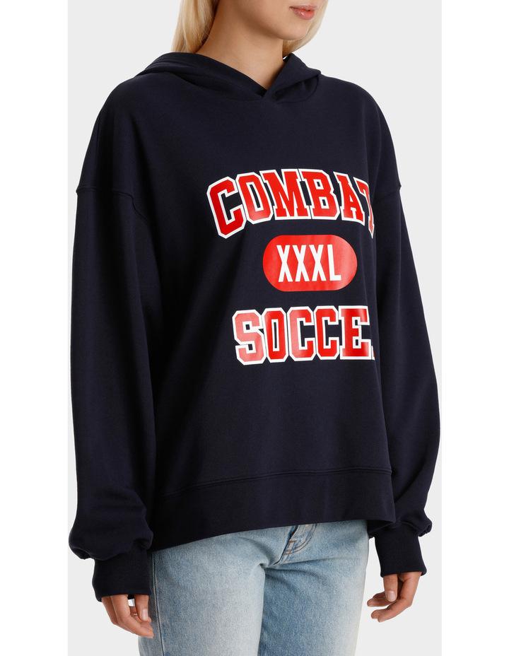 Combat Soccer Hoodie image 2