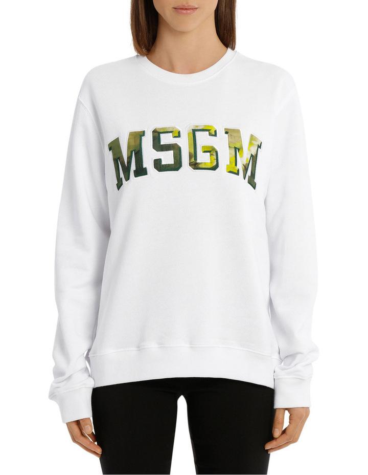 Tie Dye Logo College Sweatshirt image 1